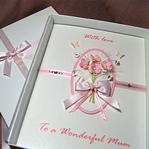 Product shot for: Amelia - Luxury Handmade Mothers Day Card