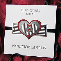 Product shot for: Athos - Handmade Valentines Card