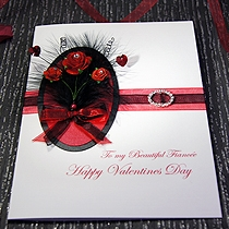 Product shot for: Bella - Handmade Luxury Valentines Card