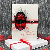 Product shot for: Bella - Luxury Boxed Valentines Card