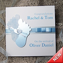 Product shot for: Cherished - Handmade New Baby Card