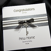 Product shot for: Kensington - Handmade New Home Card