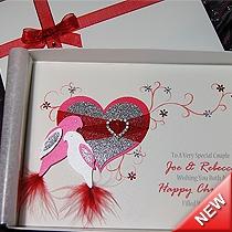 Product shot for: Christmas Duet - Luxury Handmade Christmas Card