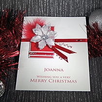 Product shot for: Christmas Eve - Luxury Handmade Christmas Card