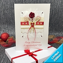 Product shot for: Christmas Romance - Luxury Boxed Card