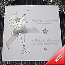 Product shot for: Christmas Wish - Handmade Christmas Card