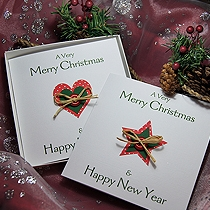 Product shot for: Country Christmas - Handmade Christmas Card Pack