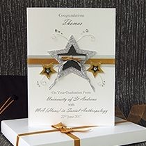 Product shot for: Dedication - Luxury Graduation Card
