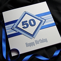Product shot for: Diamond Geezer - Male Birthday Card