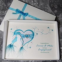 Product shot for: Duet - Luxury Handmade Engagement Card