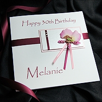 Product shot for: Faye - Handmade Birthday Card