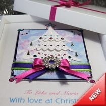 Product shot for: Festive Christmas Tree - Luxury Christmas Card