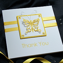 Product shot for: Flutter - Handmade Thank You Card
