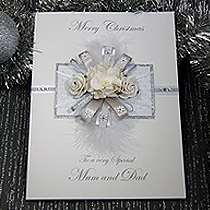 Product shot for: Christmas Frost - Luxury Christmas Card