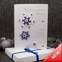 Product shot for: Glisten - Luxury Boxed Christmas Card