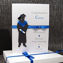 Product shot for: The Graduate (Male) - Luxury Graduation Card