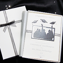 Product shot for: Graduation Day - Luxury Handmade Graduation Card