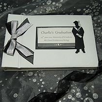 Product shot for: Graduation - Personalised Graduation Photo Album