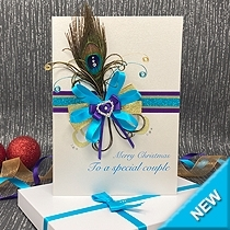Product shot for: Joyful - Luxury Boxed Christmas Card