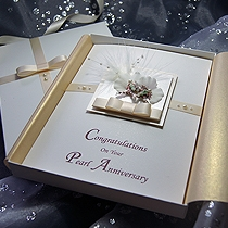 Product shot for: Kirika - Handmade Luxury Anniversary Card