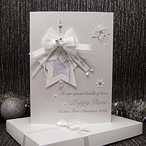 Product shot for: Little Jingle Bells - Luxury Baby's 1st Christmas Card