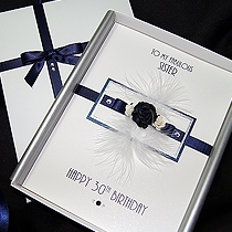 Product shot for: Midnight - Luxury Birthday Card