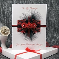 Product shot for: Passion - Luxury Valentines Card