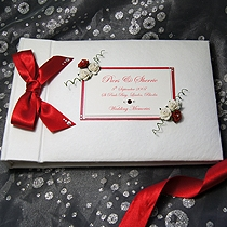 Product shot for: Romance - Personalised Wedding Photo Album