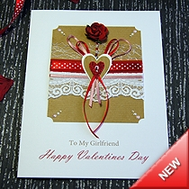 Product shot for: Romancing - Luxury Valentines Card