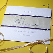 Product shot for: Serenity - Handmade Christening Card
