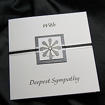 Product shot for: Sorrow - Handmade Sympathy Card