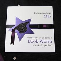 Product shot for: Star Achievement - Handmade Graduation Card
