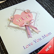 Product shot for: Tender - Handmade Mothers Day Card