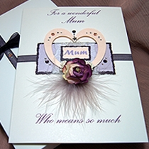 Product shot for: Treasured - Luxury Mothers Day Card