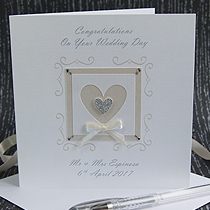 Product shot for: True Love - Handmade Wedding Card