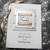 Product shot for: With This Ring - Handmade Wedding Card