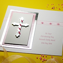 Product shot for: Zara - Handmade Christening Card