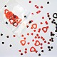 Click to add: Confetti Hearts - Red