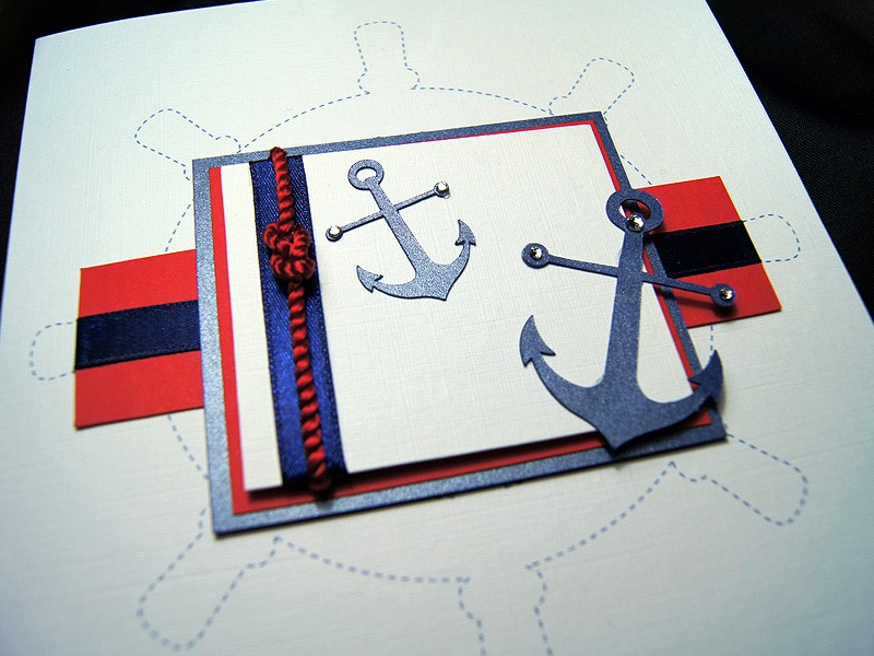 Ahoy Handmade Male Birthday Card – Male Birthday Cards
