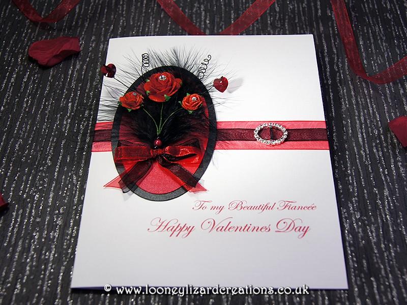 Bella Handmade Luxury Valentines Card – E Valentine Cards Uk
