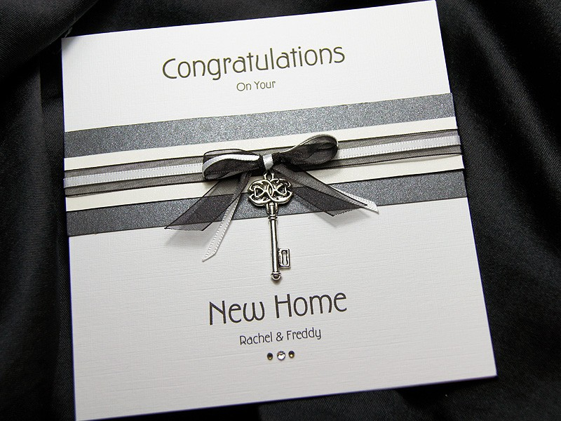Kensington - Handmade New Home Card