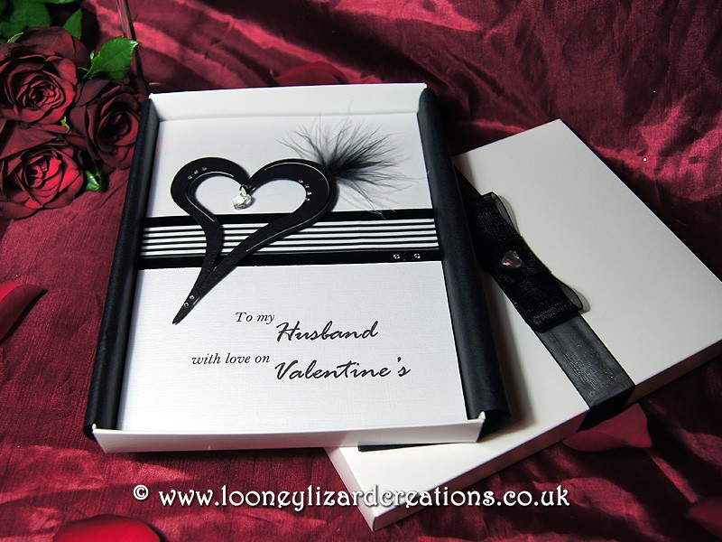 Eros Handmade Luxury Valentines Card – Luxury Valentines Cards