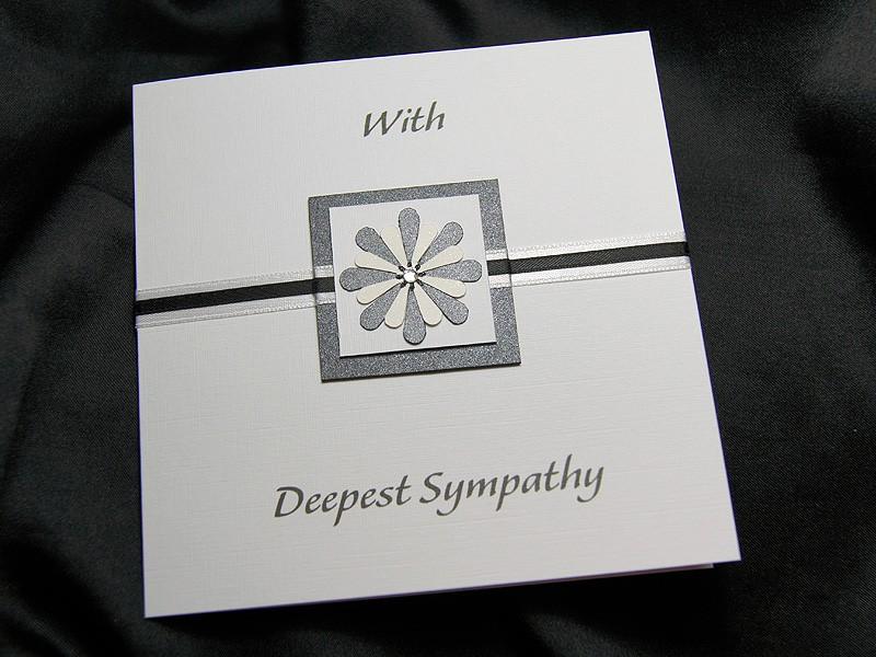 sorrow  handmade sympathy card