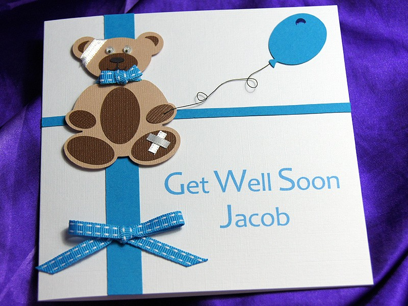 Get Well Soon Card Ideas For Children To Make Part - 35: Homemade Get Well Soon Cards | Www.imgkid.com - The Image .