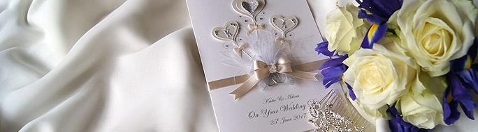 Landing page: Luxury Boxed Cards