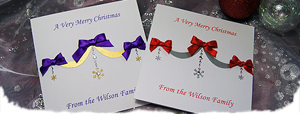 Deck the halls christmas card packs